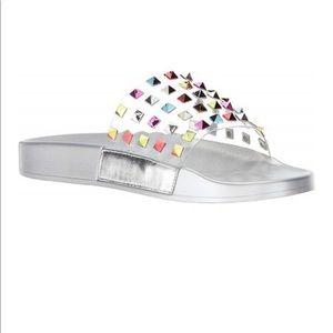 New! Katy Perry Tatum Slide spike sandal -10
